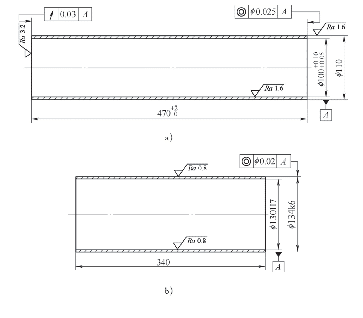 An Innovative Machining Method for Cylindrical Processing of Thin Wall Sleeve Parts 3