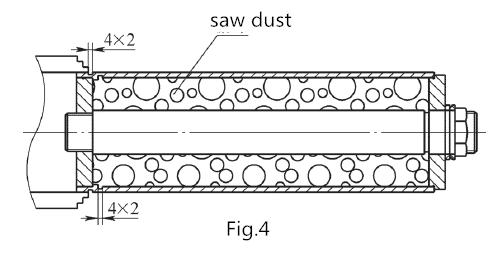 طريقة تصنيع مبتكرة للمعالجة الأسطوانية لأجزاء غلاف الجدار الرقيقة 6