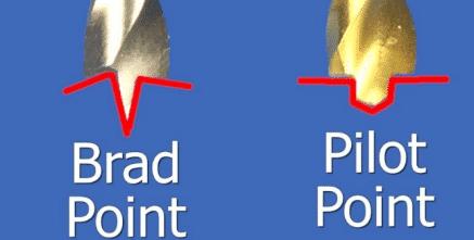 Brad point bit