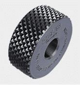 form knurling wheel